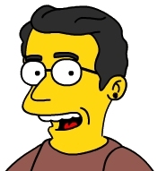 Simpsonized Wonko